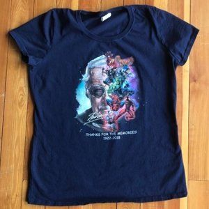 Marvel Stan Lee Memory T Shirt Large